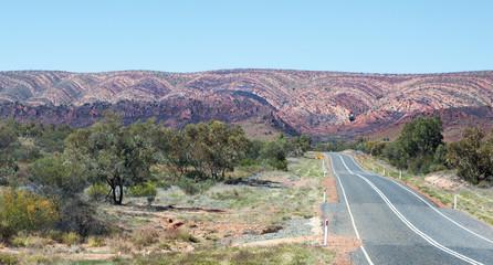 West Macdonnell Ranges Australia scene
