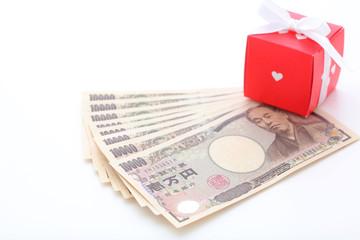 お金とプレゼント