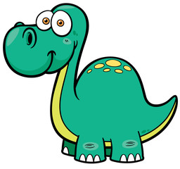 Vector illustration of Dinosaur
