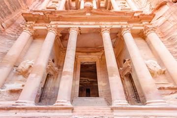 The Treasury in the Edomite city of Petra, Jordan