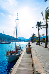 Cartagena Murcia port marina in Spain