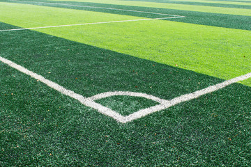 Corner of Football Field