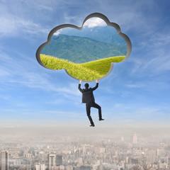 Climb to the cloud