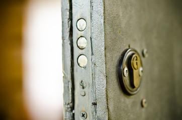 keyhole and lock