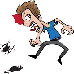 Fear of mouse and spider