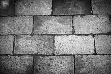 The brick walkway