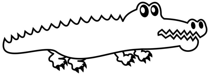 an icon crocodile