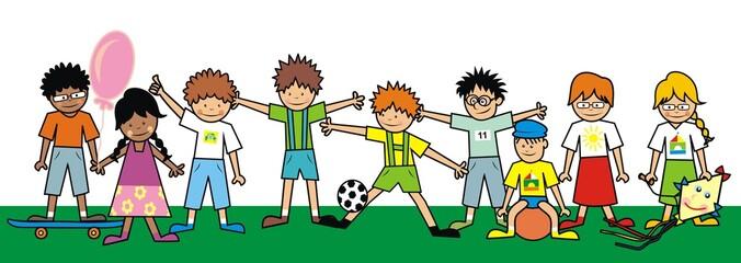 kids, group