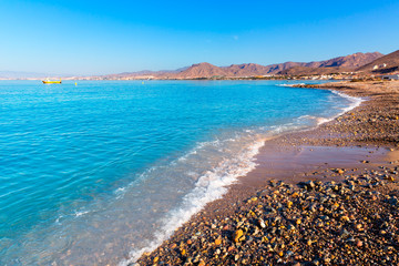 La Azohia beach Murcia in Mediterranean Spain