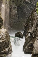 Dolomites waterfall