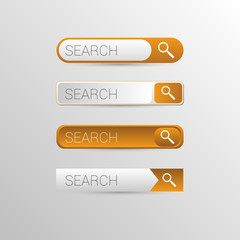 Orange Search Buttons