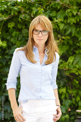 canvas print picture Casual modern woman