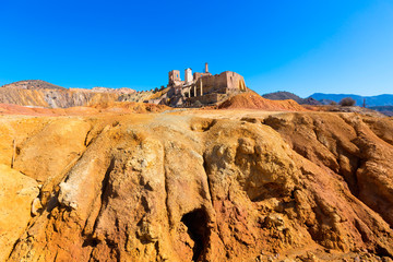 Mazarron Murcia old mine in Spain