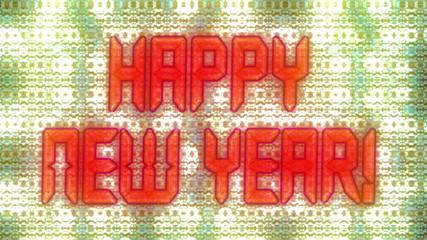 New Year display