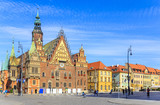 Town Hall, Old Town Market in Wroclaw, Poland - 71030219