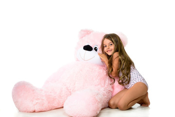 My big teddy friend