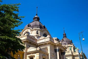 Szechenyi Furdo in Budapest.