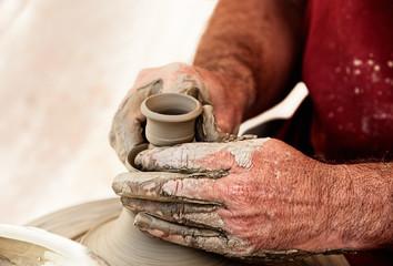 Creating an earthen jar