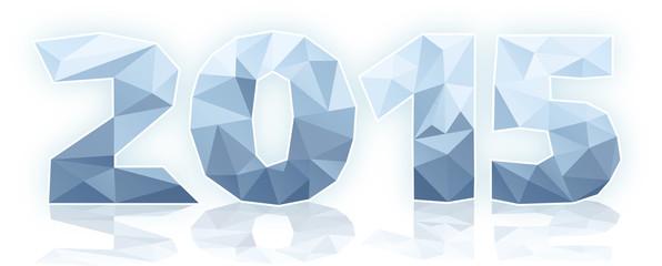 2015 polygones glace vecteurs