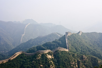 """The Great Wall"", a site Badaling."