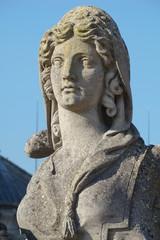 Sculpture de sphinx,Domaine de Chantilly