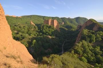 Las Médulas - historical roman mine, Spain