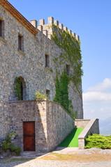 Castle of Viggianello. Basilicata. Italy.