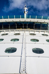 Ladder up Bulkhead of Cruise Ship