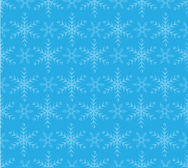 Christmas background with snowflake pattern