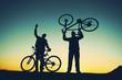keyifli bisiklet gezisi