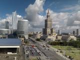 Fototapety Warszawa,widok centrum