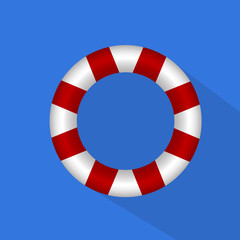 иллюстрация спасательный круг