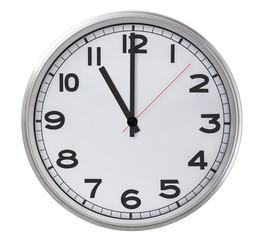 11 o'clock