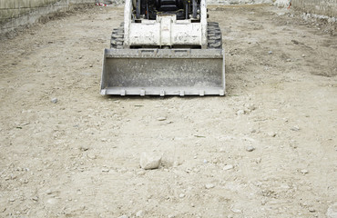 Excavator construction