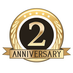 Two Year Anniversary Badge