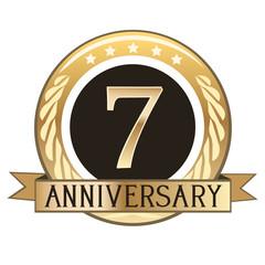 Seven Year Anniversary Badge