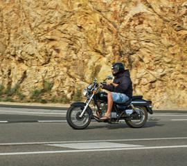 Motorbike in Spain.