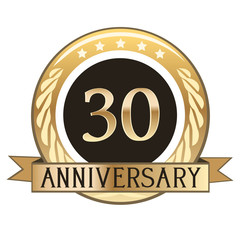 Thirty Year Anniversary Badge