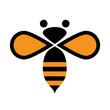 Obrazy na płótnie, fototapety, zdjęcia, fotoobrazy drukowane : Vector logo bee