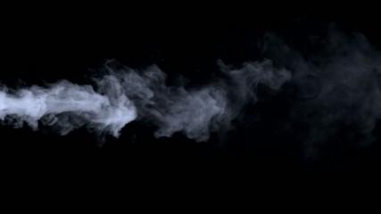 blue smoke haze