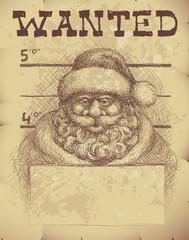 Santa wanted