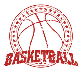 Basketball Design - Vintage