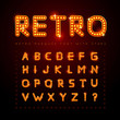 Retro font - 71042456