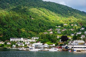 Small norwagian town