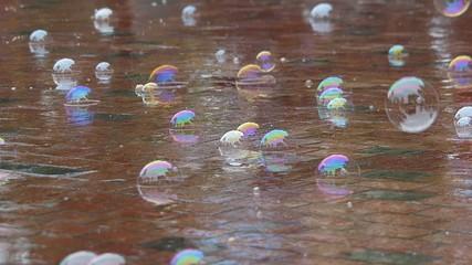 シャボン玉と雨の日_1