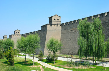 Wall of the ancient fortress.