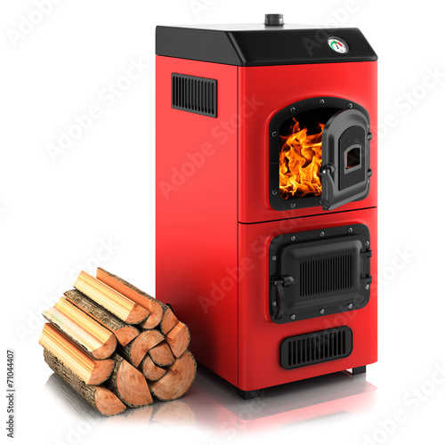 Solid fuel boiler - 71044407