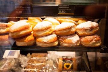 doughnuts in bakery