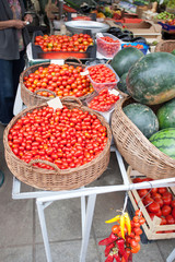 cherry tomatoes market