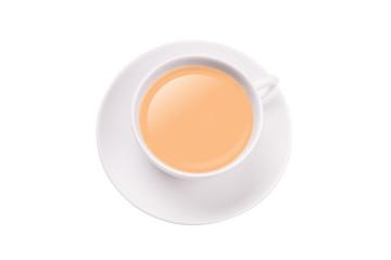 Milchkaffee hell